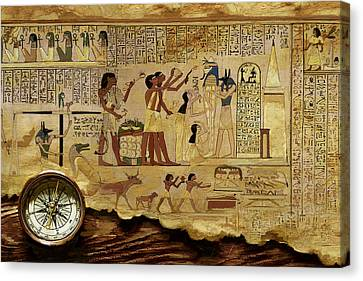 Ancient Egypt Civilization 06 Canvas Print by Catf