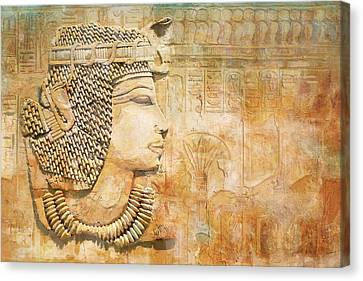 Ancient Egypt Civilization 07 Canvas Print by Catf
