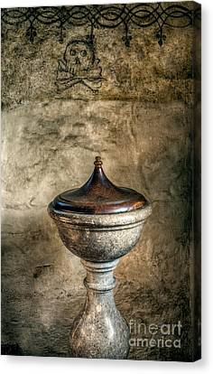 Ancient Font Canvas Print by Adrian Evans