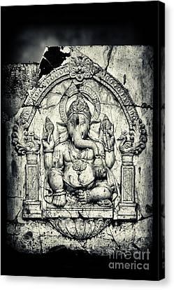 Ganapati Canvas Print - Ancient Ganesha by Tim Gainey