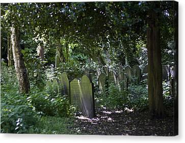 Ancient Graves Canvas Print