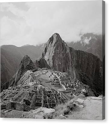 Ancient Machu Picchu Canvas Print