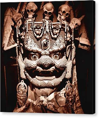 Ancient Mask Canvas Print by Dan Sproul