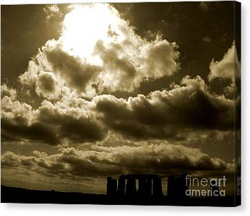 Canvas Print featuring the photograph Ancient Mystery by Vicki Spindler
