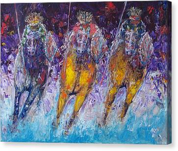 Ancient Oromo Warriors. Canvas Print