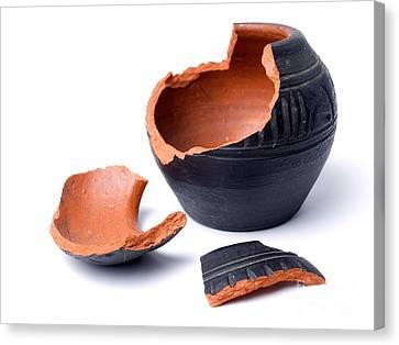 Ancient Pot Canvas Print by Sinisa Botas
