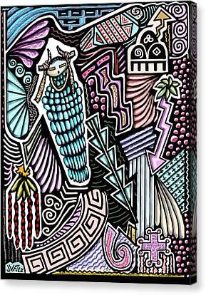 Ancient Rain Spirit Canvas Print