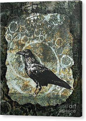 Ancient Spirals Canvas Print by Judy Wood