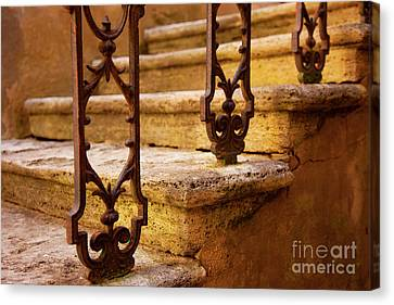 Ancient Steps Canvas Print by Brian Jannsen