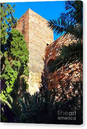 Ancient Tower Canvas Print by Lutz Baar