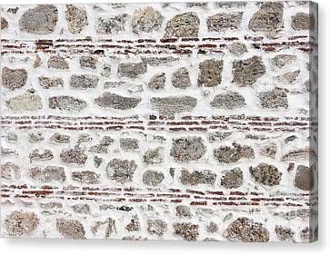 Ancient Wall Background Canvas Print