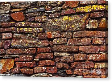 Ancient Wall Canvas Print