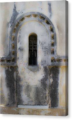 Ancient Window Canvas Print by Radoslav Nedelchev