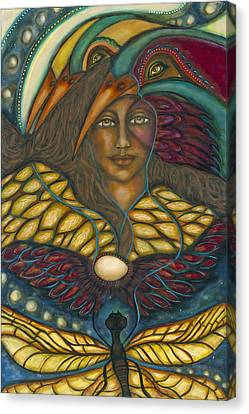 Ancient Wisdom Canvas Print by Marie Howell Gallery