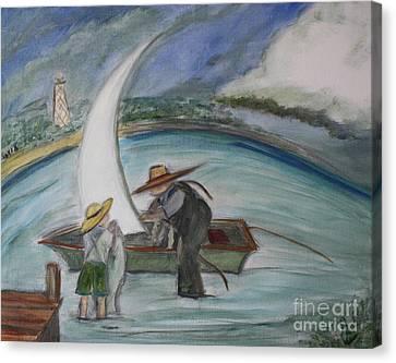 Anclote Key Canvas Print by Teresa Hutto