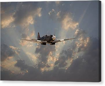 And Comes Safe Home Canvas Print by Pat Speirs