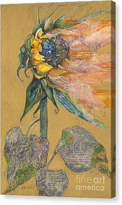 And Juliet Is The Sun Canvas Print by Kate Bedell