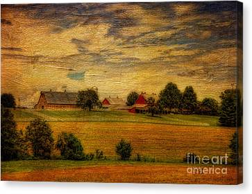 And The Livin' Is Easy Canvas Print by Lois Bryan
