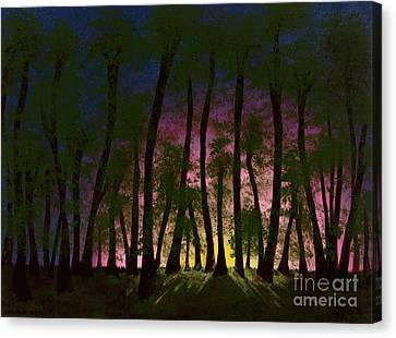 And The Sun Was Rising Canvas Print