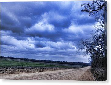 And The Thunder Rolls Canvas Print by Jan Amiss Photography