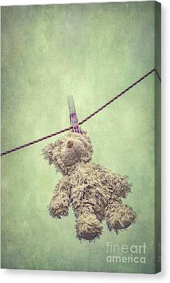 And Then The Childhood Was Left Behind Canvas Print by Evelina Kremsdorf
