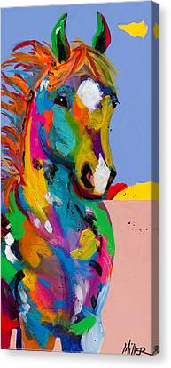 And They Called The Wind Mariah Canvas Print by Tracy Miller