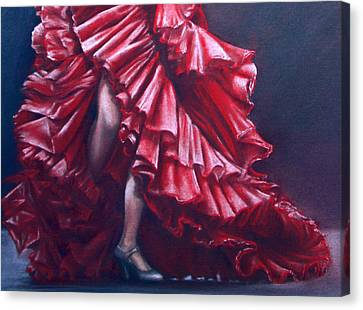 Andalucia Flamenco Canvas Print