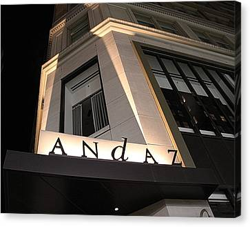 Andaz Canvas Print by Dan Sproul