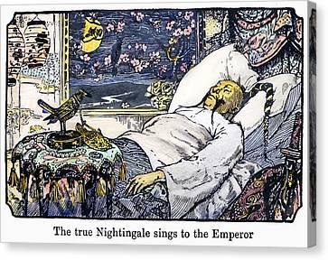 Andersen The Nightingale Canvas Print