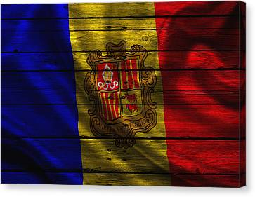 Andorra Canvas Print by Joe Hamilton
