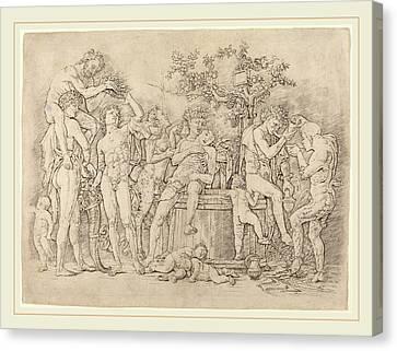 Andrea Mantegna Italian, C. 1431-1506, Bacchanal Canvas Print
