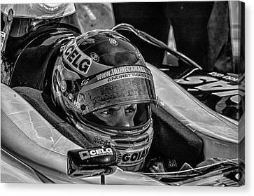Andretti Driver Canvas Print by Kevin Cable