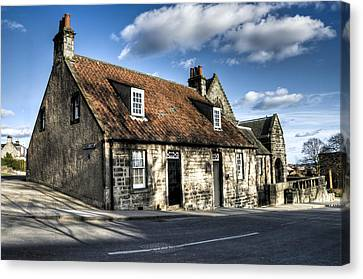 Andrew Carnegie's Birthplace Canvas Print by Ross G Strachan