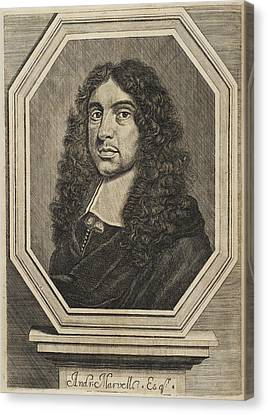 Andrew Marvell Canvas Print by British Library