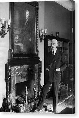 Andrew Mellon (1855-1937) Canvas Print by Granger