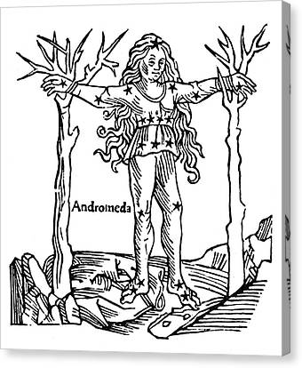 Andromeda, 1482 Canvas Print by Granger
