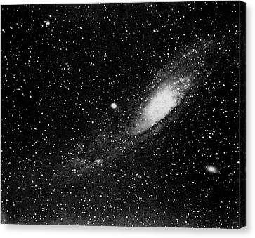 Andromeda Galaxy, 19th Century Canvas Print by Science Photo Library