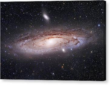 Andromeda Galaxy Canvas Print by Alex Conu
