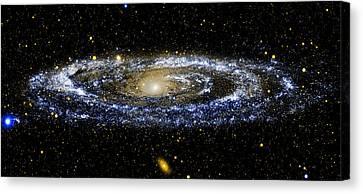 Andromeda Galaxy Enhanced Canvas Print by Weston Westmoreland