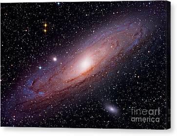Andromeda Galaxy M31 Canvas Print by John Chumack