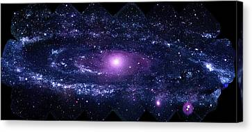 Andromeda Galaxy (m31) Canvas Print by Nasa/swift/stefan Immler (gsfc) And Erin Grand (umcp)