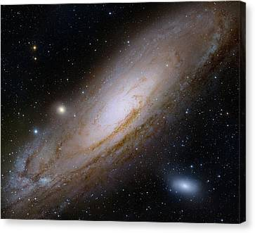 Andromeda Galaxy Canvas Print by Robert Gendler