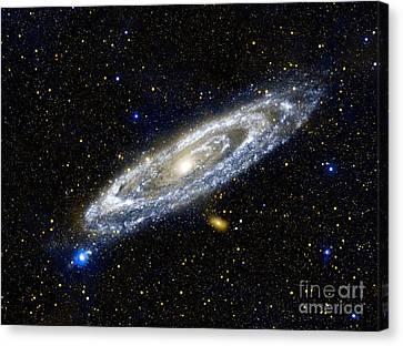 Andromeda Galaxy, Ultraviolet Image Canvas Print by Nasa