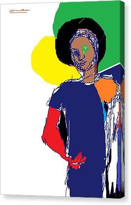 Andronikos Canvas Print by Anita Dale Livaditis