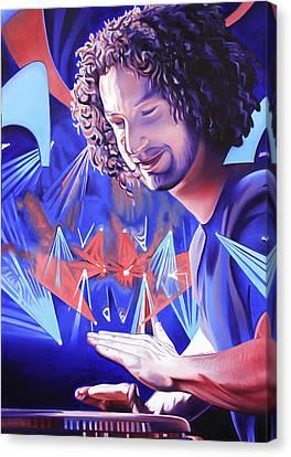 Andy Farag  Canvas Print by Joshua Morton