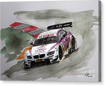 Andy Priaulx Bmw Dtm Canvas Print