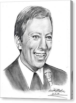 'andywilliams' Canvas Print by Barb Baker