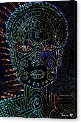 Anencephaly Angel Canvas Print by Teleita Alusa