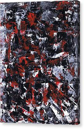 Aneurysm 1 - Right Canvas Print by Kamil Swiatek
