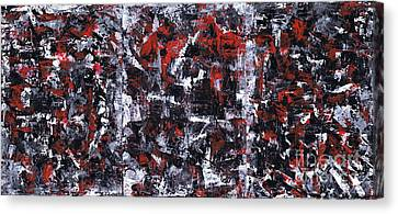 Aneurysm 1 - Triptych Canvas Print by Kamil Swiatek